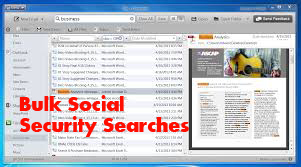 Bulk Social Security Searches