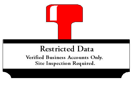 Restricted Data - Site Inspection Required
