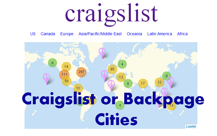 Search all Craigslist or Backpage Cities at same time