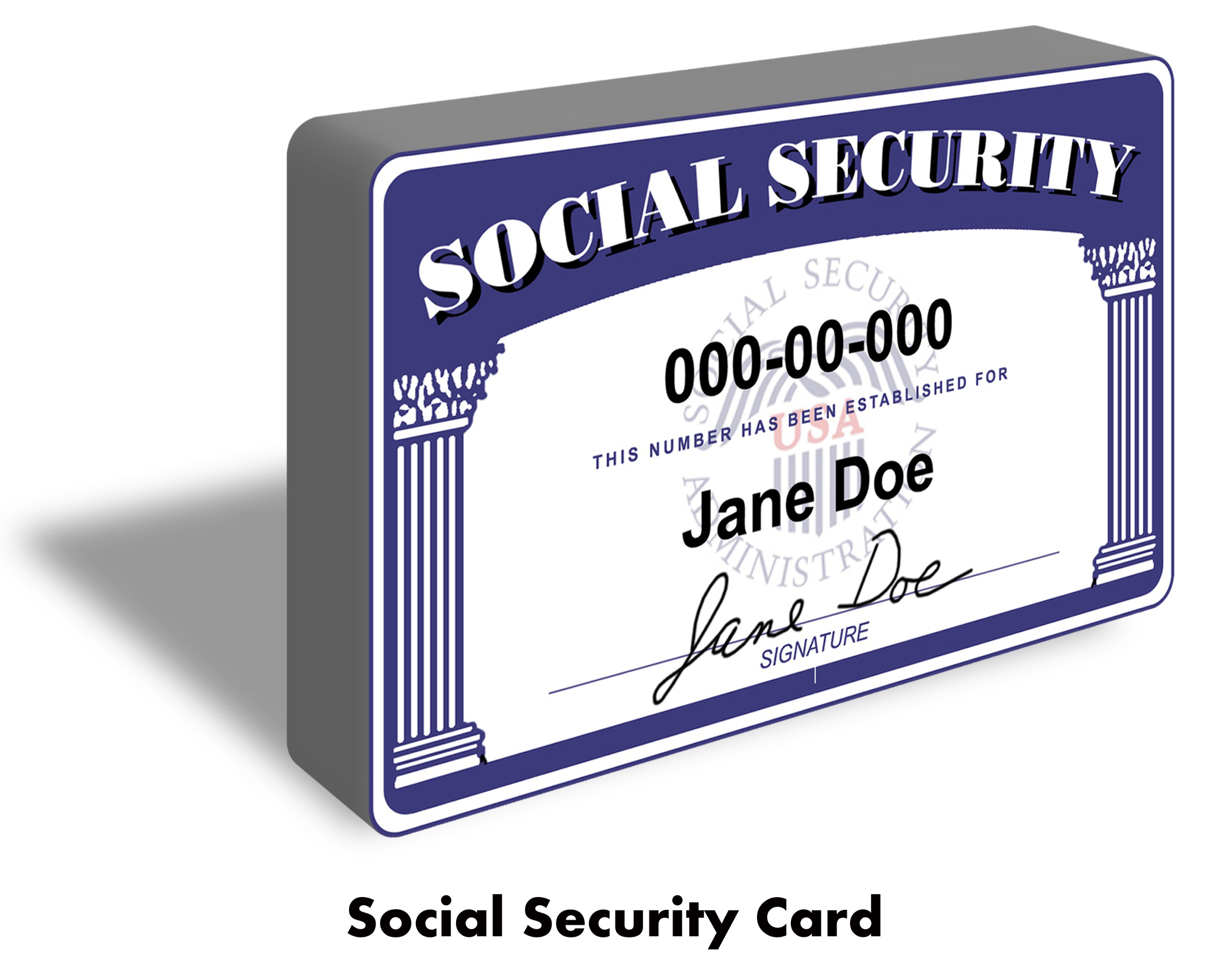 Help, I Lost my Social Security Card