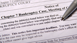 Bankruptcy, Liens and Judgments