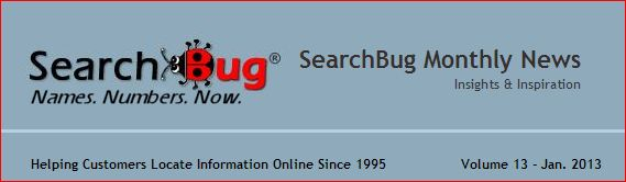 SearchBug Monthly News