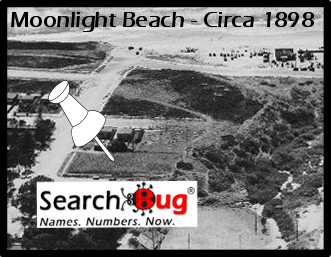 Moonlight Beach, 1898 - Historic Photo