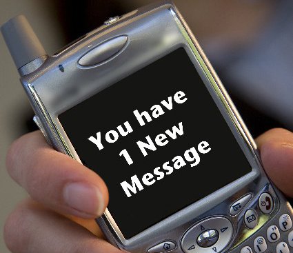 Marketing List and Text Messages - You have 1 New Message