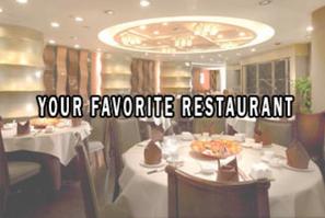 Your Favorite Restaurant