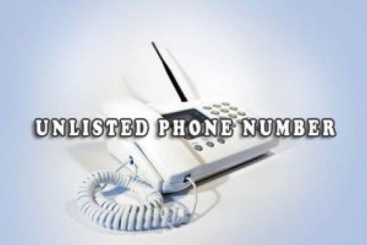 Unlisted Phone Number