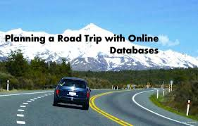 Planning a Road Trip with Online Databases