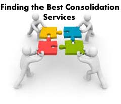 Finding the Best Consolidation Services