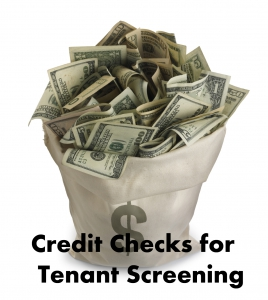 """Credit Checks for Tenant Screening"""