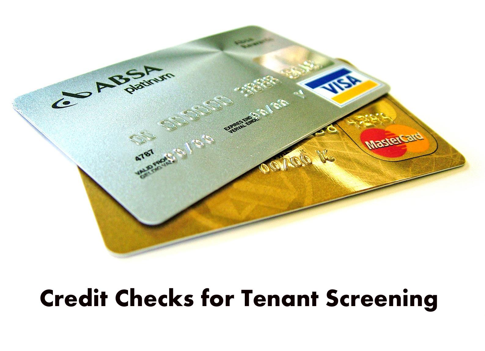 Credit Checks for Tenant Screening