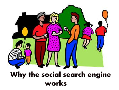 Why the Social Search Engine Works