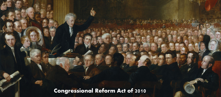Congressional Reform Act of 2010