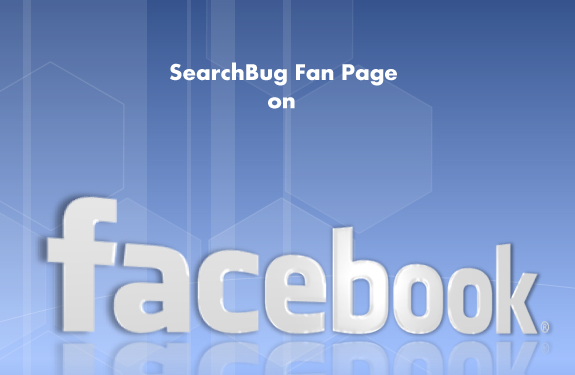 SearchBug Fan Page on Facebook
