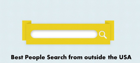 How to place an order on Best People Search from outside the USA