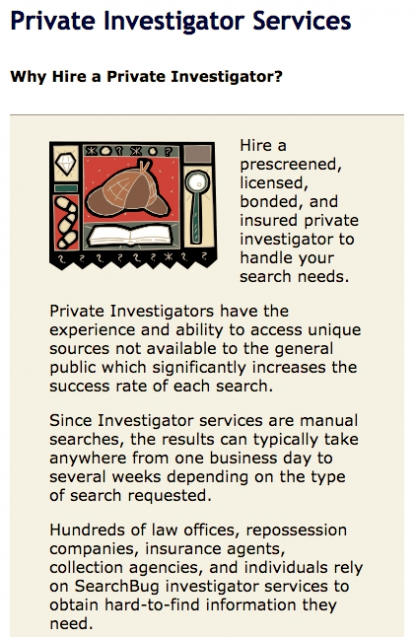Hire a private investigator if your skip tracing efforts are unsuccessful.
