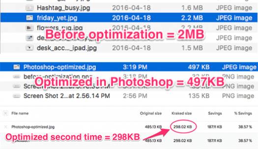 Optimized Image: 2MB to 497KB for faster page load times