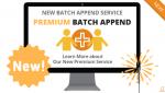 Premium Batch Append Service via Searchbug.com