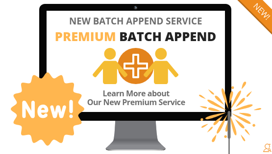 Premium Batch Append Service via Searchbug.com
