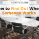 Find Where Someone Works via Searchbug Blog