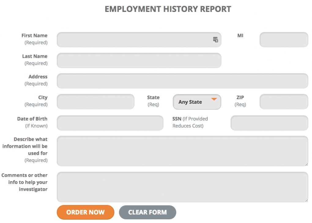Locate Place of Employment Online