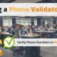 Phone Validator API via Searchbug.com