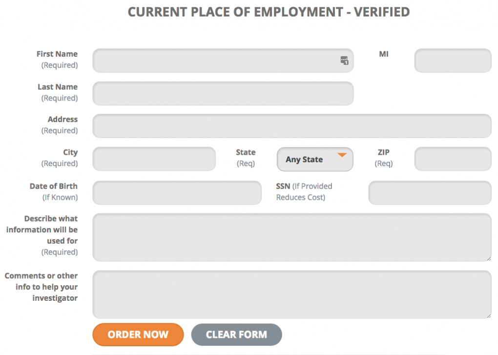 Verify Place of Employment with a Private Investigator