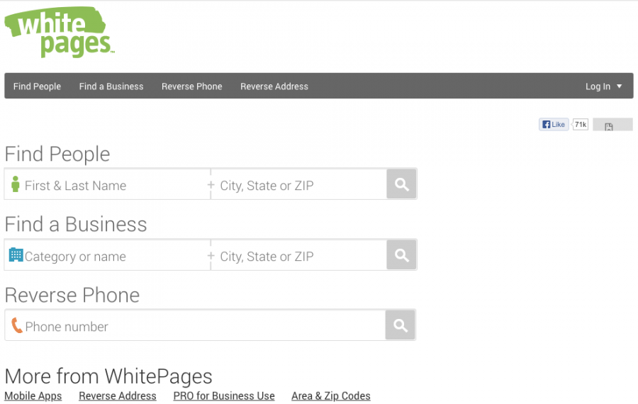 Whitepages.com in 2013.