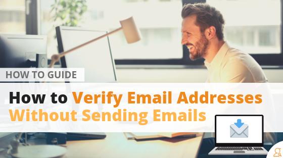 How to Verify Email Addresses Without Sending Emails via Searchbug.com