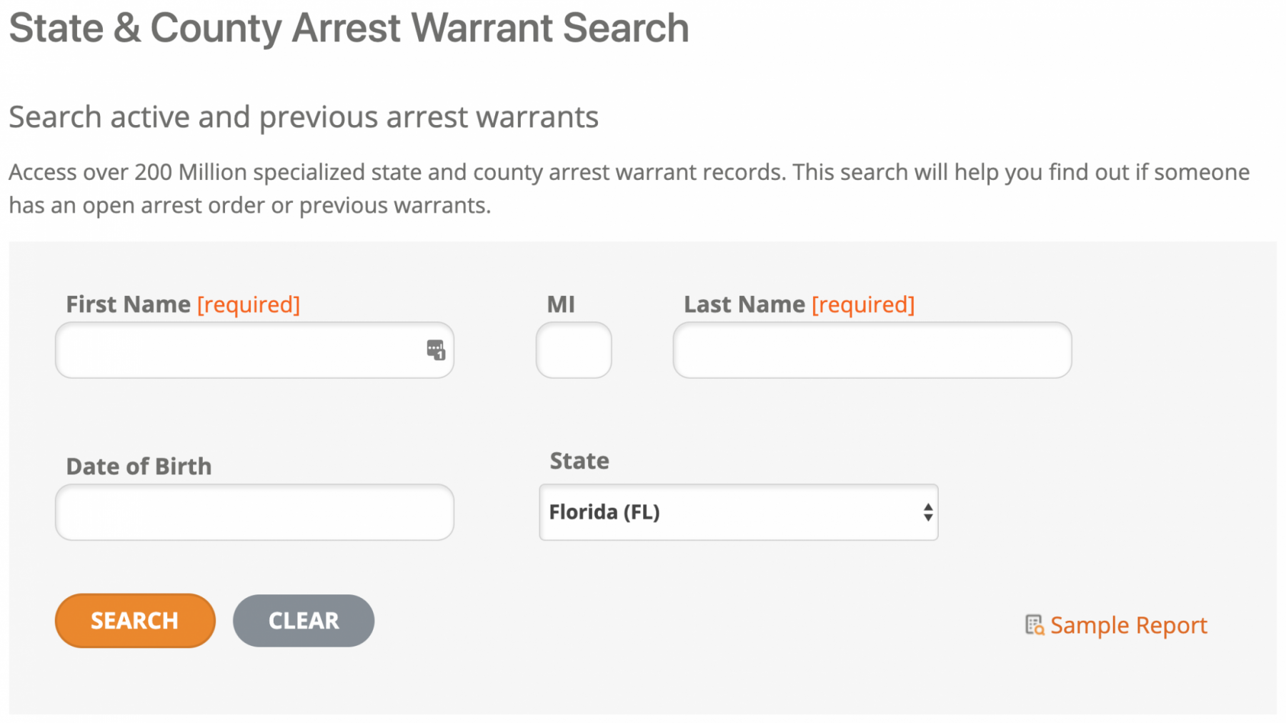 Halloween Safety: Do an arrest warrants search if you want to be absolutely sure.