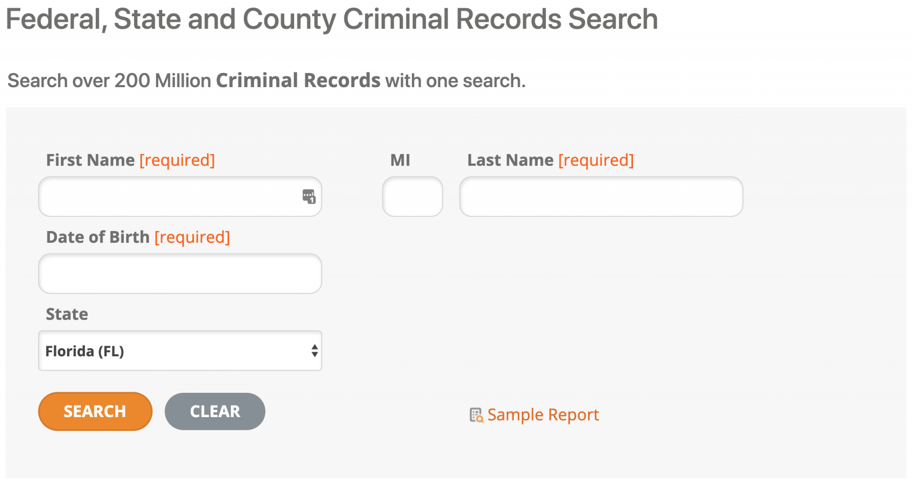 Halloween Safety: do a criminal records search to find the safest places to trick or treat.