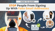 How Do I Stop People From Signing Up With Fake Email Addresses via Searchbug.com