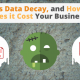 What is Data Decay, and How Much Does it Cost Your Business? via Searchbug.com