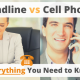 Landline vs Cell Phone – Everything You Need to Know via Searchbug.com