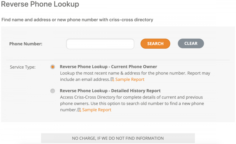 Find someone's name from cell phone number with a reverse phone lookup.