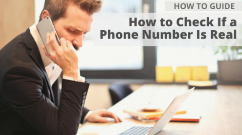 How to Check If a Phone Number Is Real via Searchbug.com