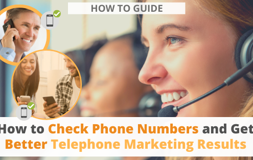 How to Check Phone Numbers and Get Better Telephone Marketing Results via Searchbug.com