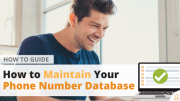 How to How to Maintain Your Phone Number Database via Searchbug