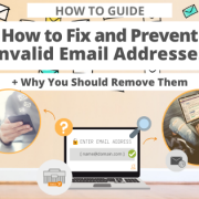 How to Fix and Prevent Invalid Email Addresses and Why You Should Remove Them via Searchbug.com