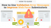 Use Validation Error Messages to Improve Web Form Submissions via Searchbug.com