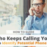 How to Identify Potential Phone Scams via Searchbug.com