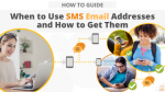 When to Use SMS Email Addresses and How to Get Them via Searchbug.com