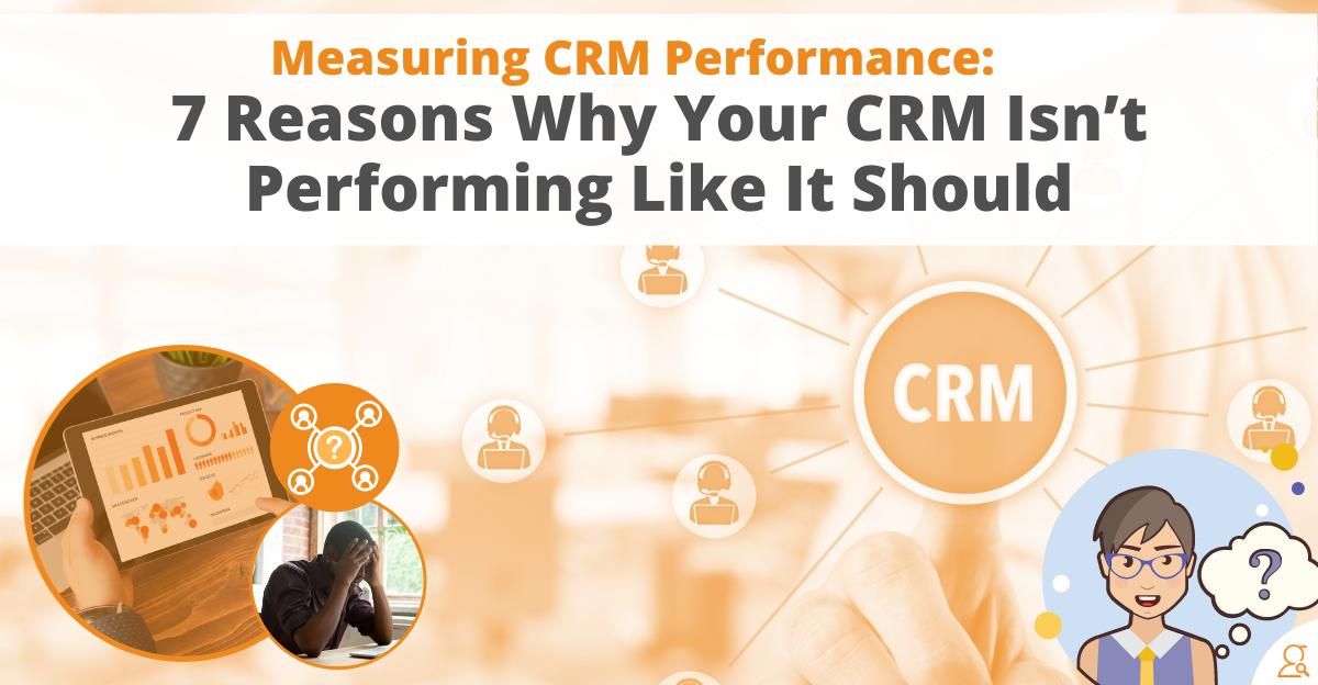 measuring CRM Performance