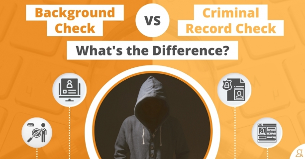 Background Check vs. Criminal Record Check What's the Difference via Searchbug